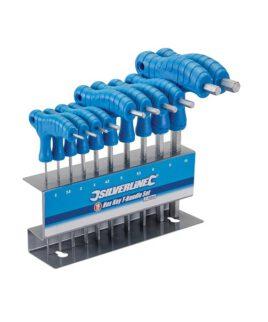 10 Delige T-greep Zeskantsleutel Set