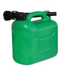 Jerrycan Brandstof 5 liter groen
