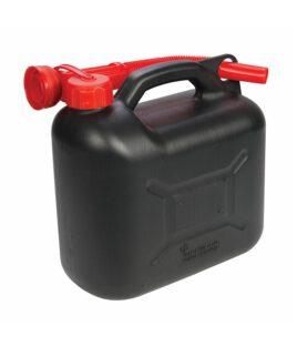 Jerrycan Brandstof Zwart 5 liter